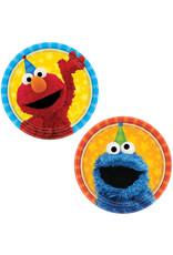 Sesame Street Paper Dessert Plates - 8ct