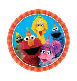 Sesame Street Dinner Plates - 8ct