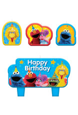 Sesame Street Candle Set - 4ct