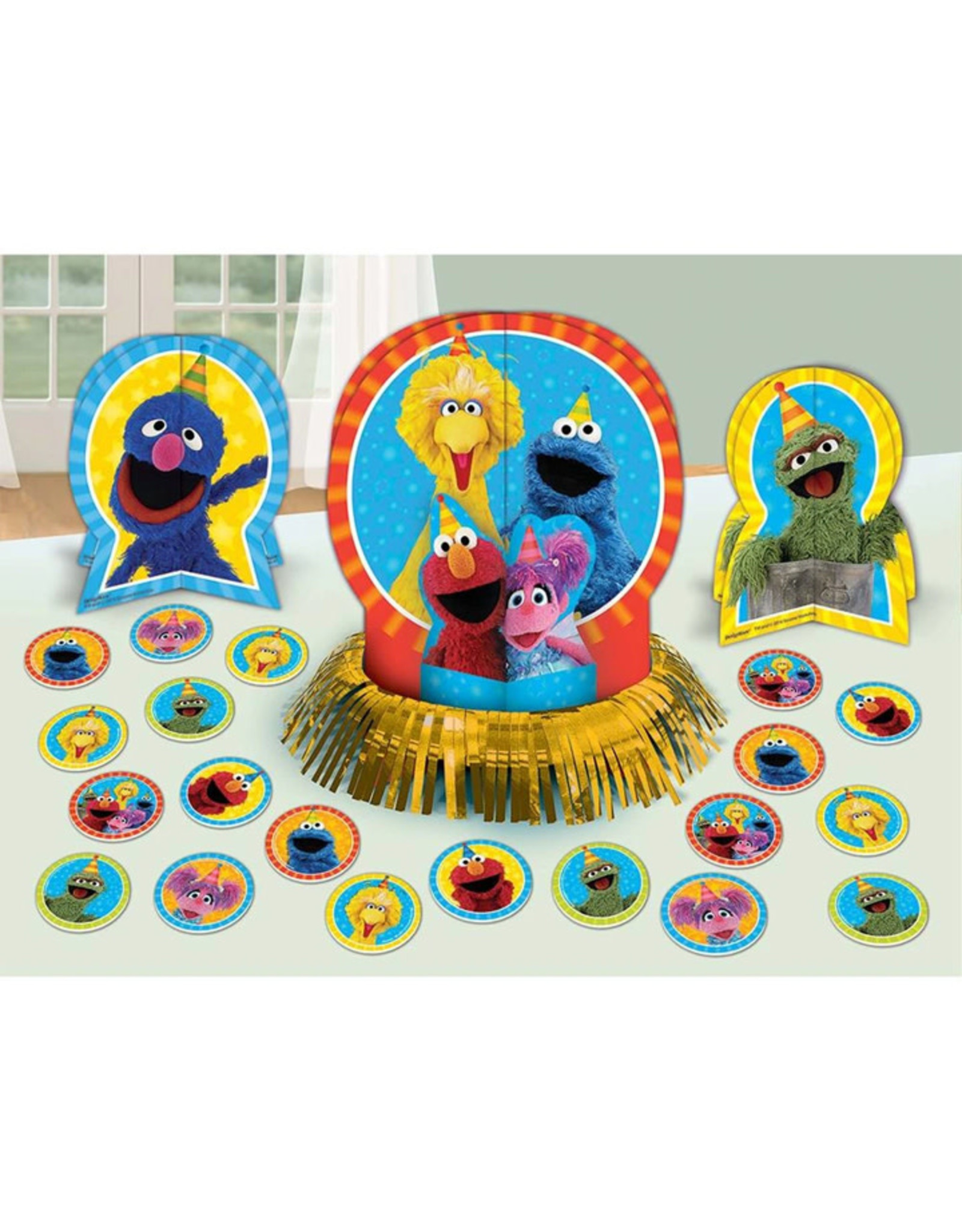 Sesame Street Table Decorating Kit