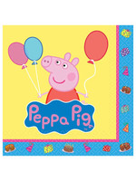 Peppa Pig Beverage Napkins - 16ct