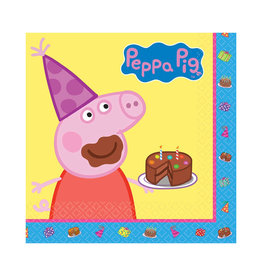 Peppa Pig Luncheon Napkins - 16ct