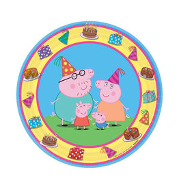 Peppa Pig Dessert Plates - 8ct