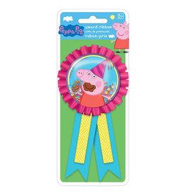 Peppa Pig Confetti Pouch Award Ribbon