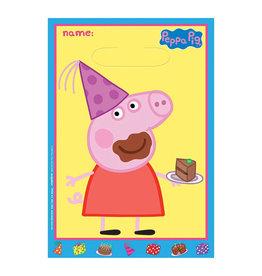 Peppa Pig Loot Bags - 8ct