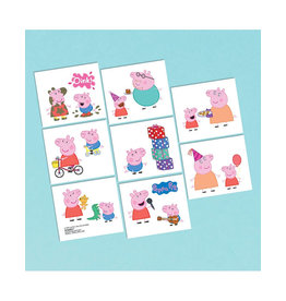 Peppa Pig Tattoos - 16ct