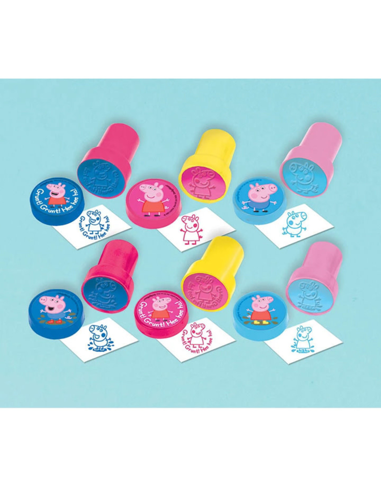 Peppa Pig Party Favor Stamps - 6ct