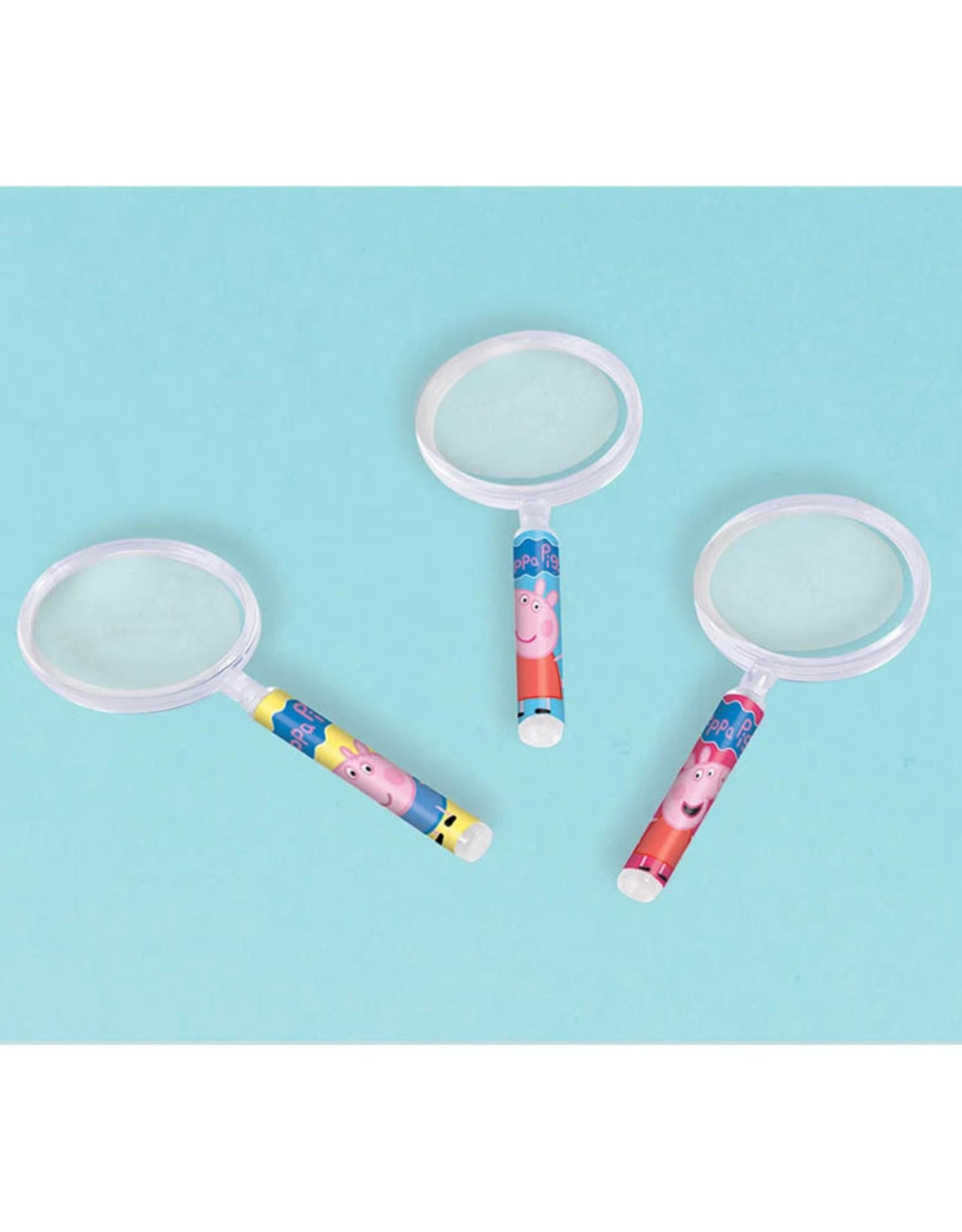 Peppa Pig Magnifying Glasses - 12ct
