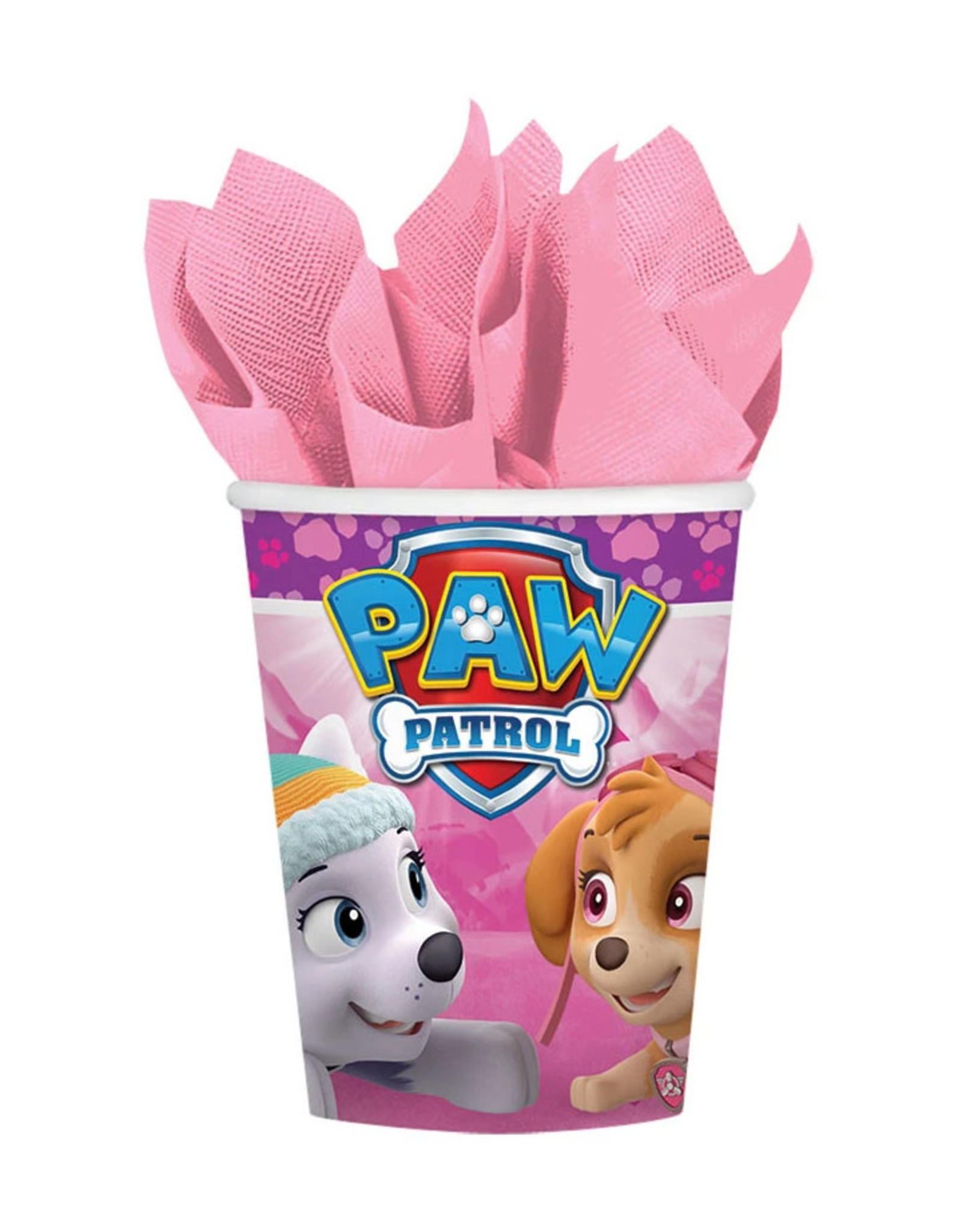 Paw Patrol Girl 9oz Paper Cups - 8ct