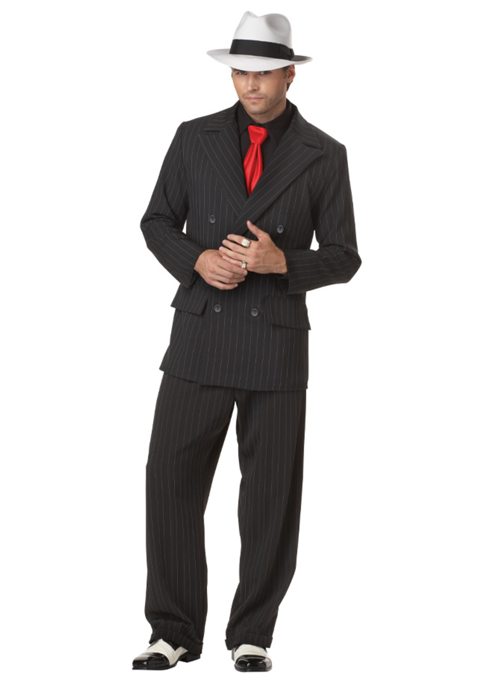 Mob Boss Costume - Men's