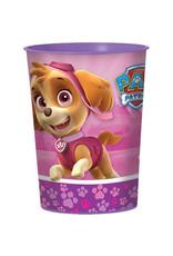 Paw Patrol Girl 16oz Plastic Favor Cup