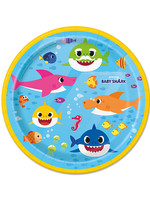 UNIQUE INDUSTRIES INC Baby Shark Dessert Plates - 8ct