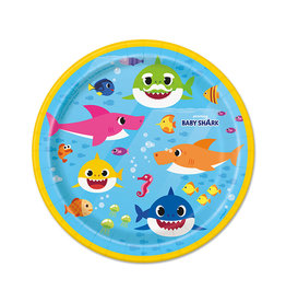 UNIQUE INDUSTRIES INC Baby Shark Dessert Plates - 8ct