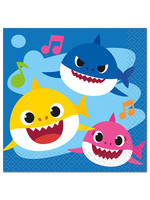 UNIQUE INDUSTRIES INC Baby Shark Beverage Napkins - 16ct
