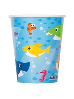UNIQUE INDUSTRIES INC Baby Shark Paper 9oz Cups - 8ct