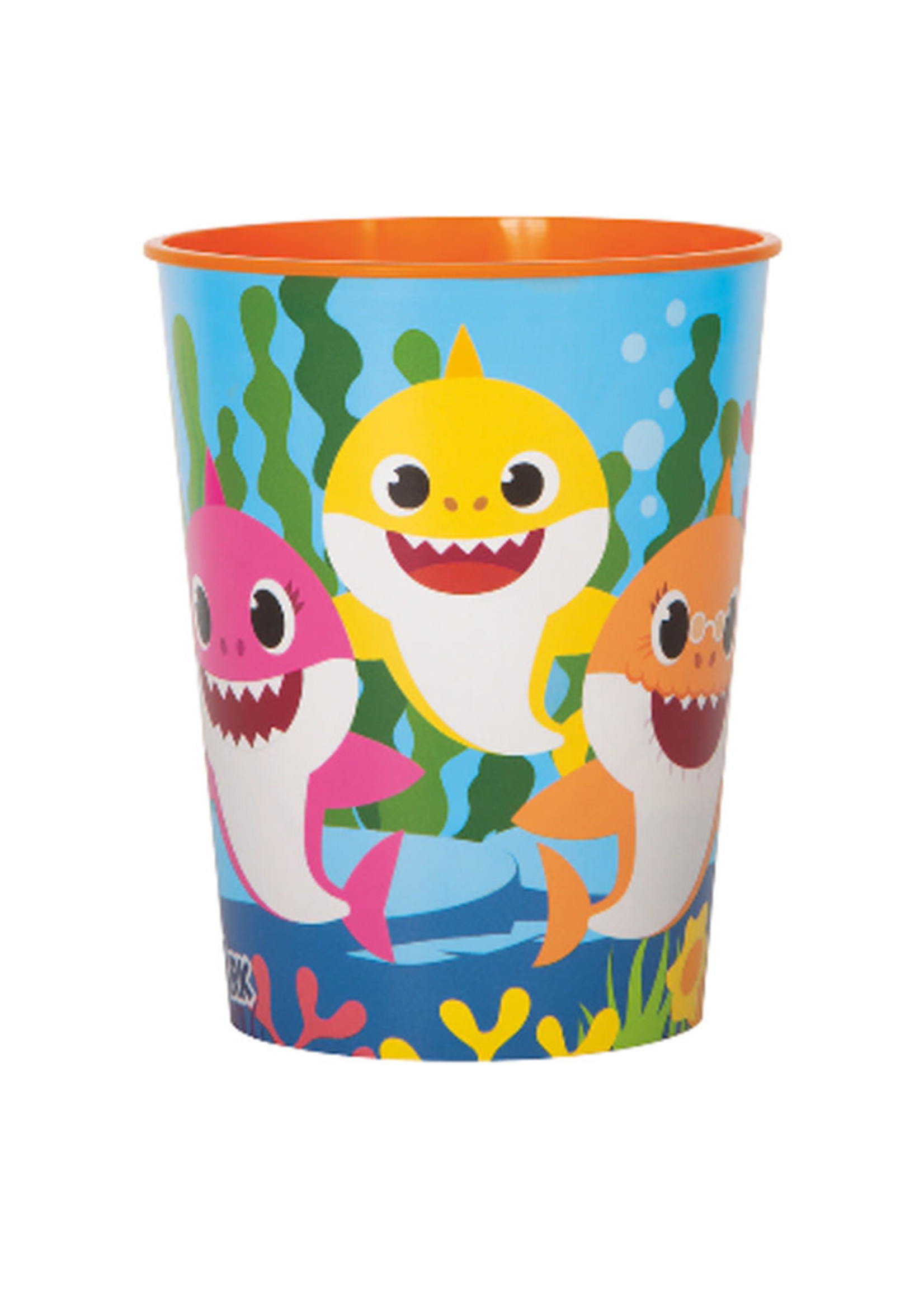 UNIQUE INDUSTRIES INC Baby Shark 16oz Favor Cup