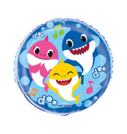 UNIQUE INDUSTRIES INC Baby Shark 18in Foil Balloon