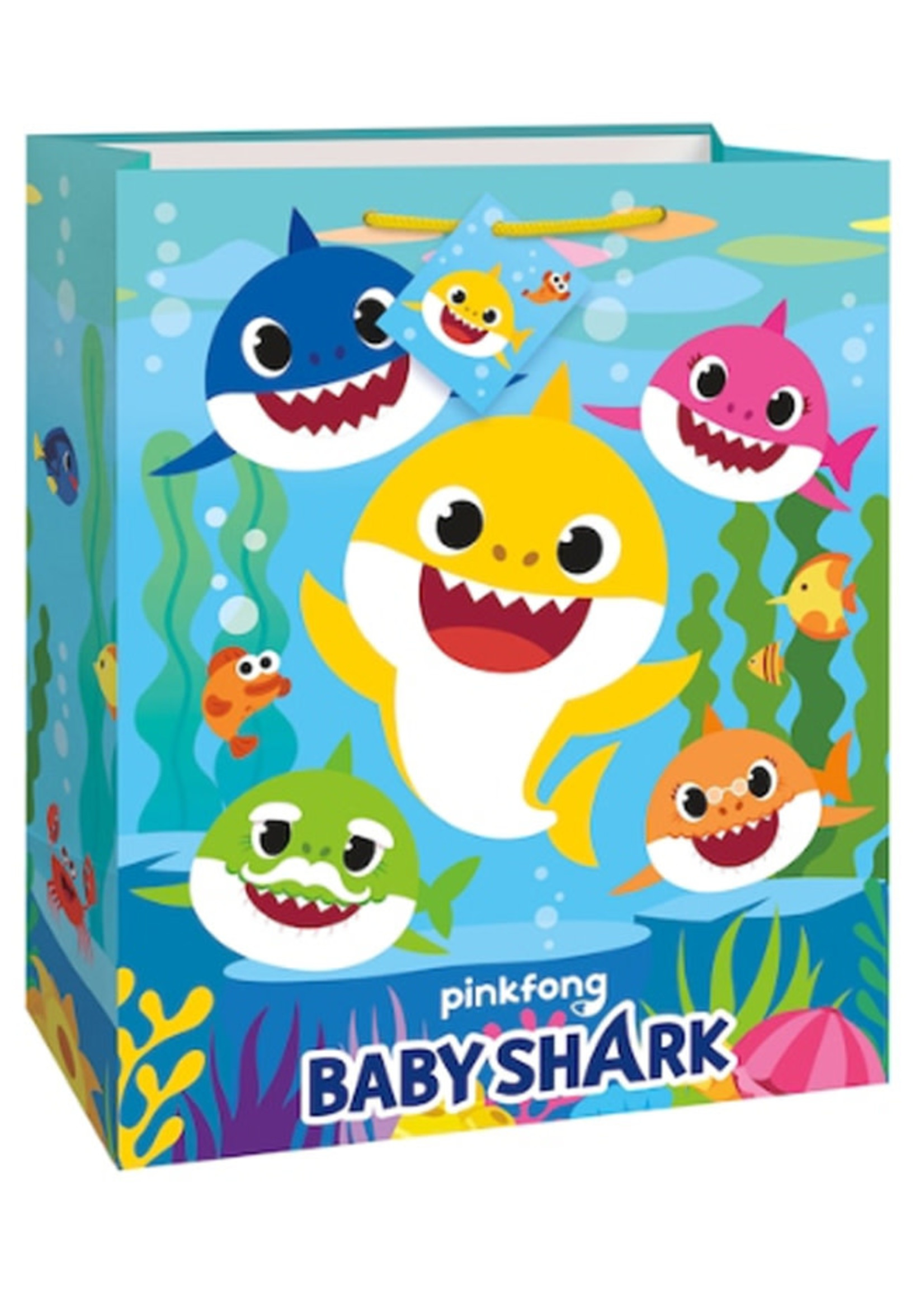 UNIQUE INDUSTRIES INC Baby Shark Large Gift Bag