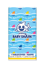 UNIQUE INDUSTRIES INC Baby Shark Plastic Table Cover