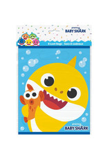 UNIQUE INDUSTRIES INC Baby Shark Loot Bags - 8ct