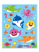 UNIQUE INDUSTRIES INC Baby Shark Sticker Sheets - 4ct