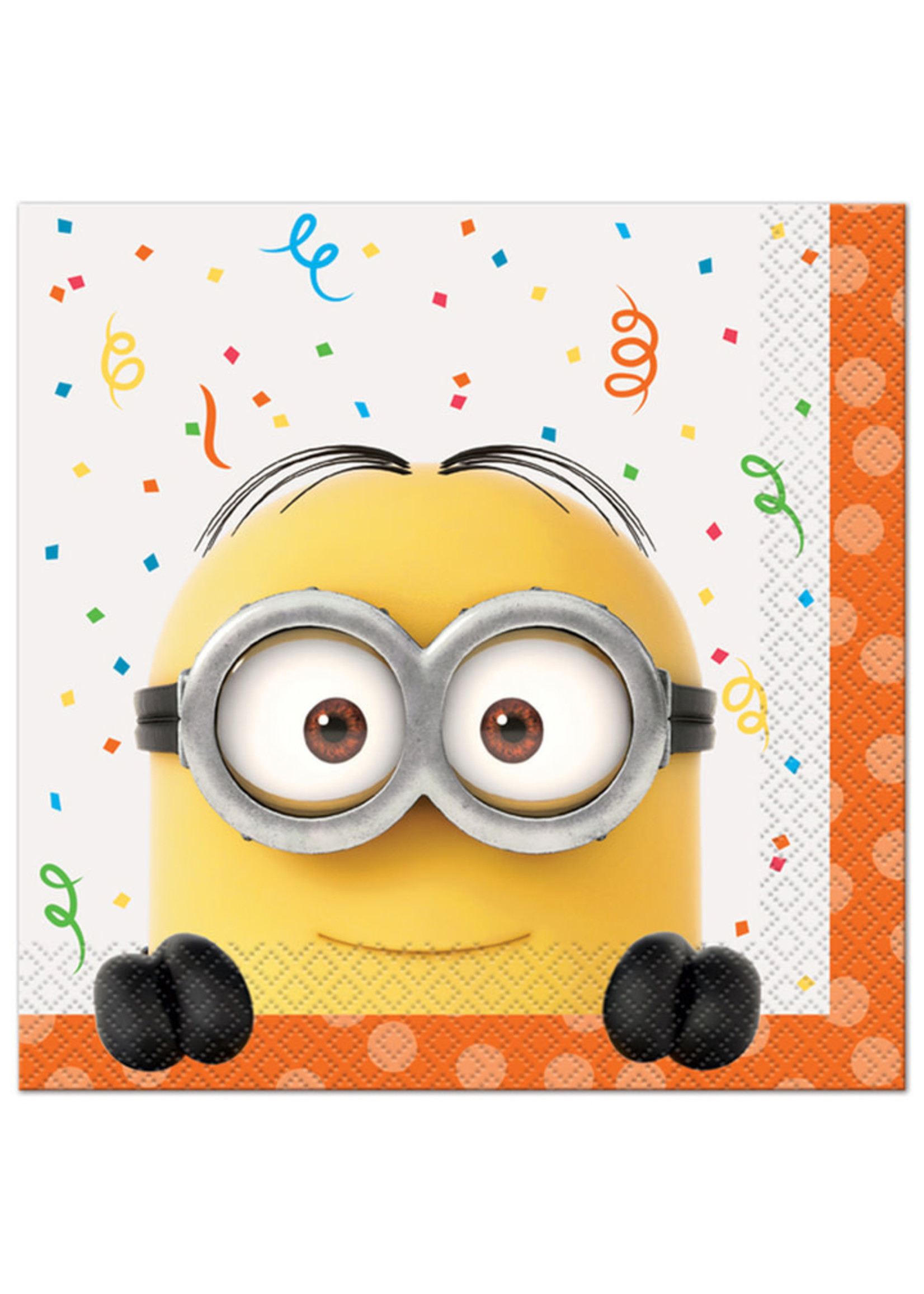 UNIQUE INDUSTRIES INC Despicable Me Minions Luncheon Napkins - 16ct