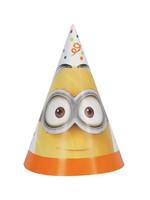UNIQUE INDUSTRIES INC Despicable Me Minions Party Hats - 8ct