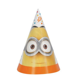 UNIQUE INDUSTRIES INC Despicable Me Minions Party Hats - 8ct