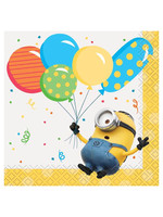 UNIQUE INDUSTRIES INC Despicable Me Minions Beverage Napkins - 16ct