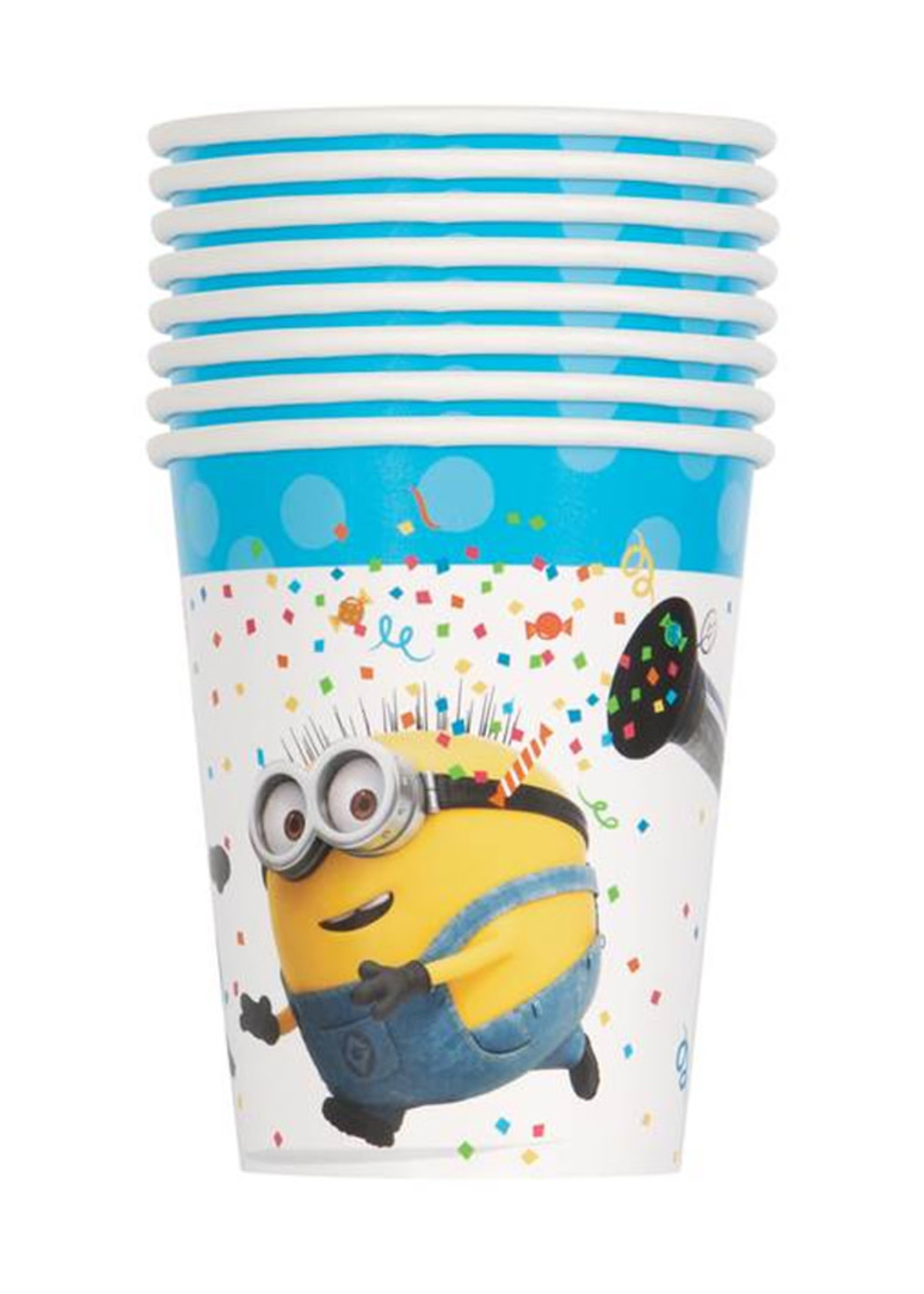UNIQUE INDUSTRIES INC Despicable Me Minions 9oz Cups - 8ct