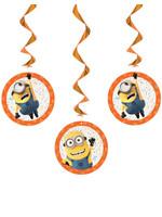 UNIQUE INDUSTRIES INC Despicable Me Minions Hanging Decorations - 3ct