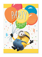 UNIQUE INDUSTRIES INC Despicable Me Minions Invitations - 8ct
