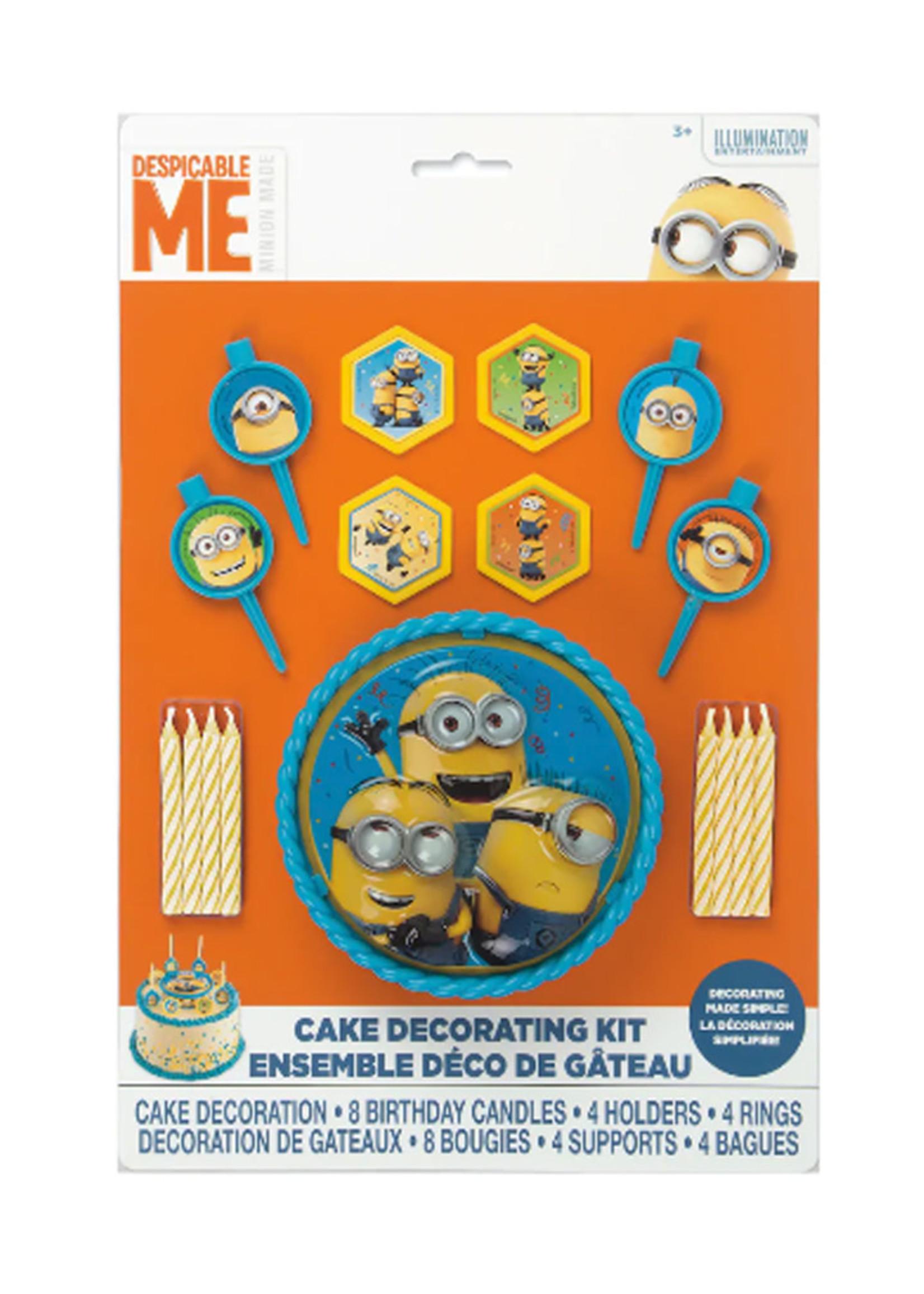 UNIQUE INDUSTRIES INC Despicable Me Minions Cake Decorating Kit