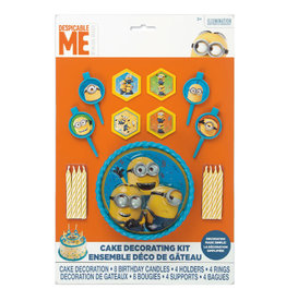 UNIQUE INDUSTRIES INC Despicable Me Minions Cake Decorating Kit