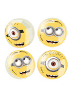 UNIQUE INDUSTRIES INC Despicable Me Minions Bouncy Ball Party Favors - 4ct