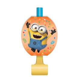 UNIQUE INDUSTRIES INC Despicable Me Minions Blowouts - 8ct