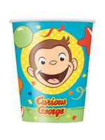 UNIQUE INDUSTRIES INC Curious George 9oz Paper Cups - 8ct