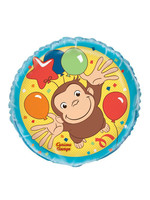 "UNIQUE INDUSTRIES INC Curious George 18"" Foil Balloon"