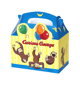 UNIQUE INDUSTRIES INC Curious George Favor Boxes - 4ct