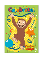 UNIQUE INDUSTRIES INC Curious George Invitations - 8ct