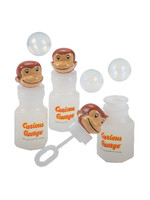 UNIQUE INDUSTRIES INC Curious George Bubble Wands - 4ct