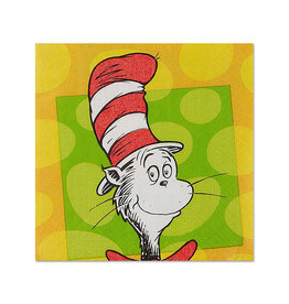 Dr. Seuss Beverage Napkins - 16ct