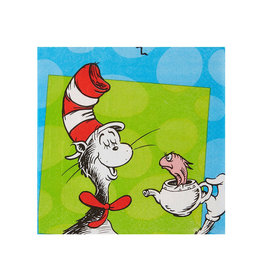 Dr. Seuss Luncheon Napkins - 16ct