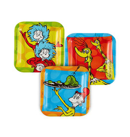 Dr. Seuss 7in Square Plates - 8ct