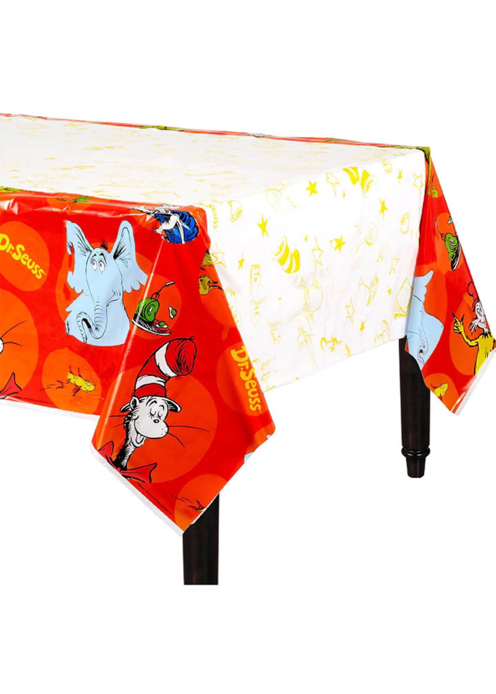 Dr. Seuss Plastic Table Cover