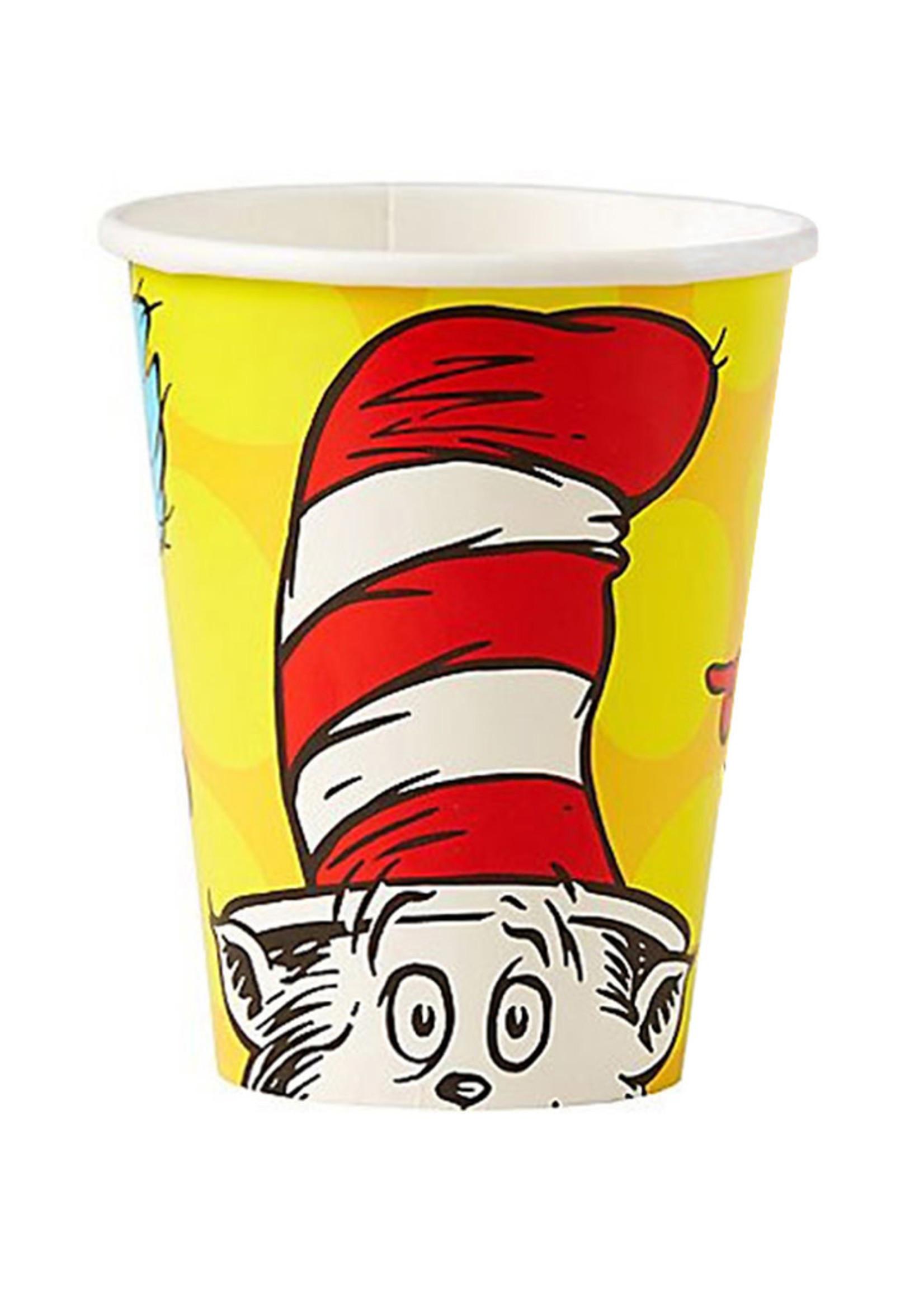 Dr. Seuss 9 oz Cups - 8ct