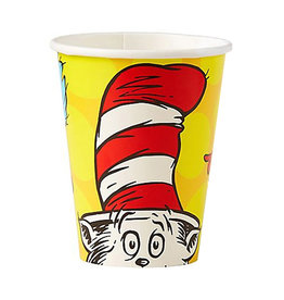 Dr. Seuss 9 oz Cups - 8ct