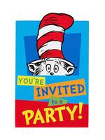 Dr. Seuss Invitations - 8ct