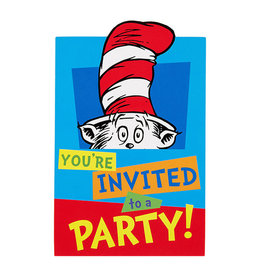 Dr. Seuss Invitations - 8ct