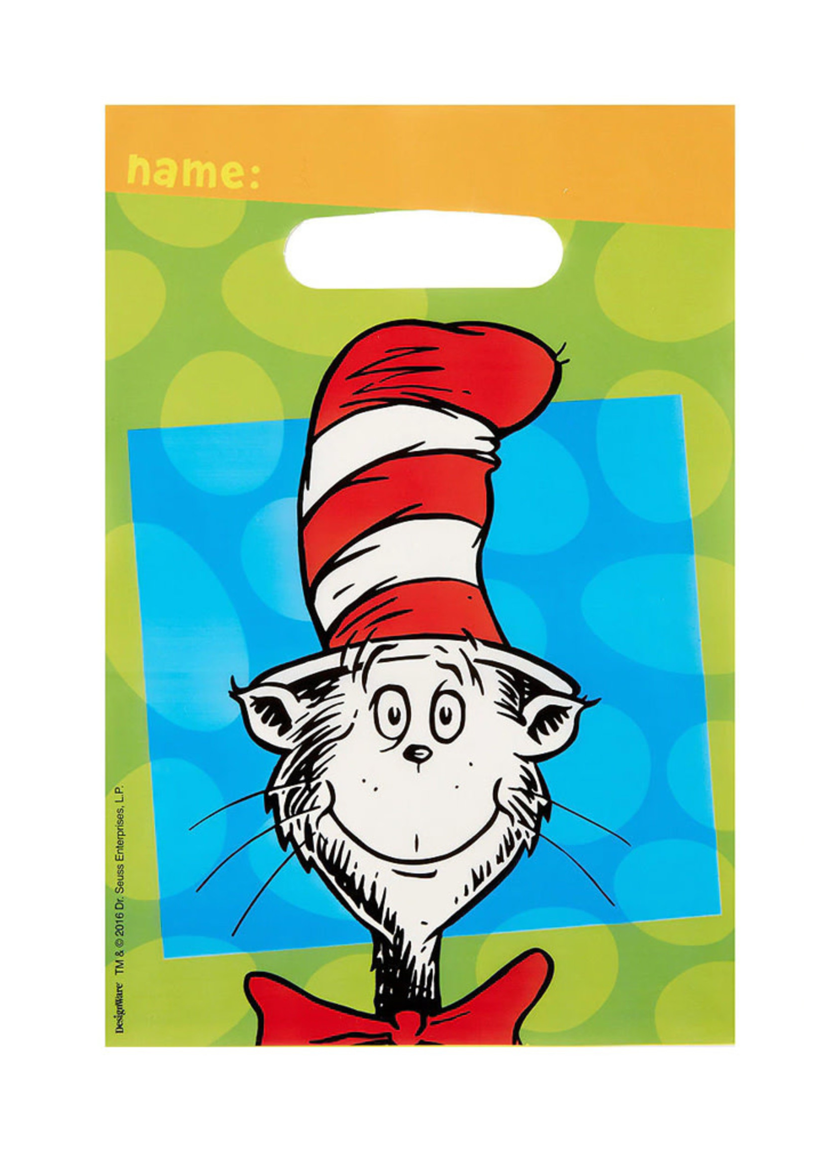 Dr. Seuss Favor Bags - 8ct
